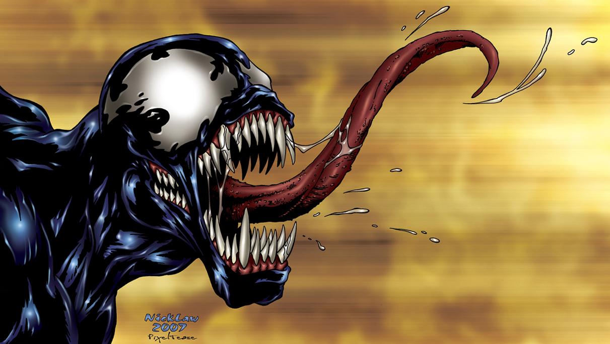 Venom II by NickDraw by pixeltease