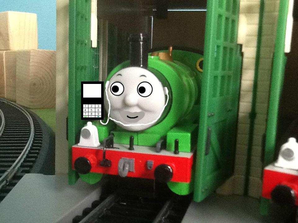 Percy Listening to Music by SamTheThomasFan3