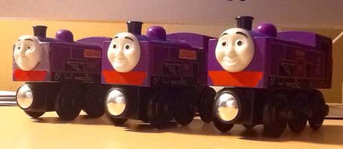 Custom WR Ernest and Wilfred by SamTheThomasFan3