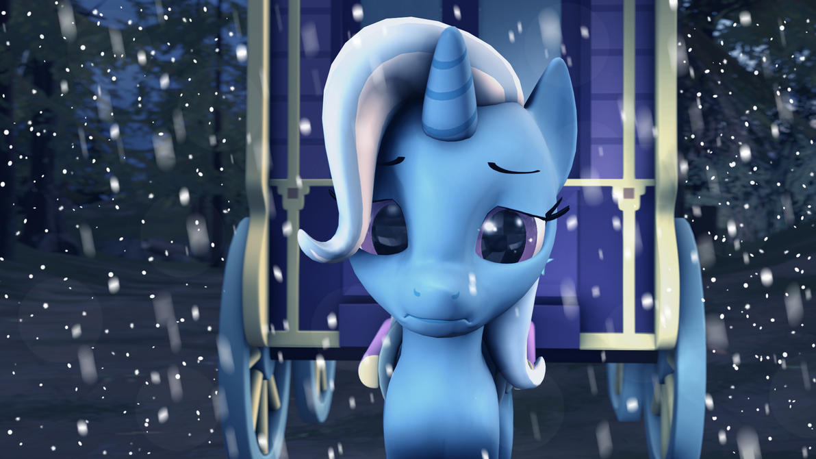 How Trixie feel about cold weather by ReiPegaPonyn