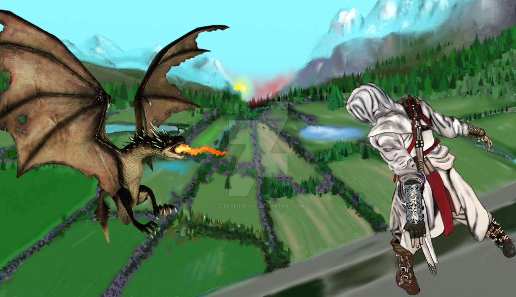 Dragon Sighting by stephenpryor