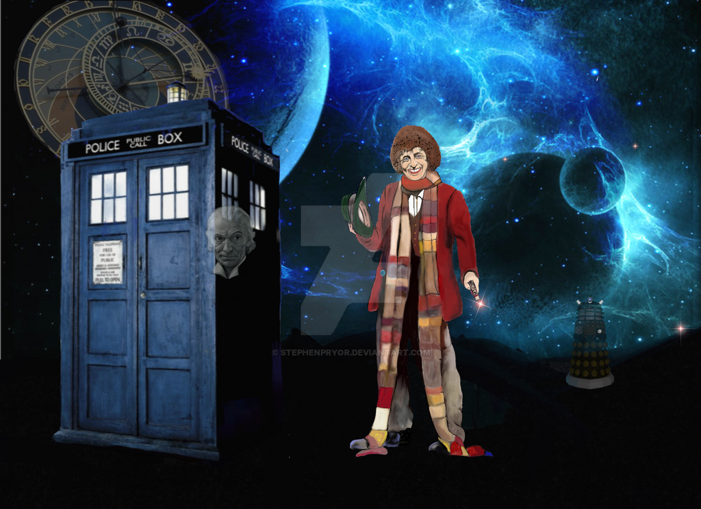 Dr Who Tom Baker by stephenpryor