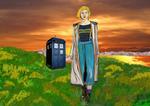 doctor-who-Jodie Whittaker by stephenpryor