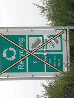recycling, hu? by bitstarr