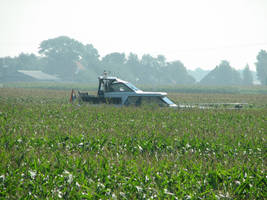 ships in a corn field by bitstarr