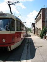 Tatra T3D by bitstarr