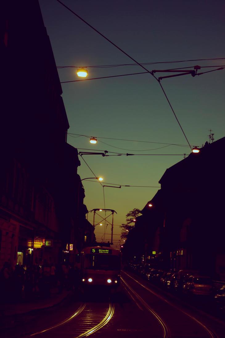 Praha Sunset by bitstarr