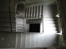 stairwell by bitstarr