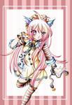 Cat girl Pink