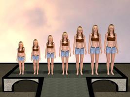 Robyn Kaiser-Age progression by jamminwolfie