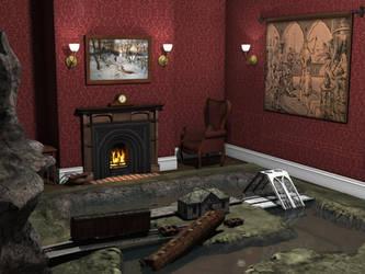 A Kid's Dream Room by jamminwolfie