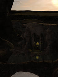 Majestic Wonder Castillo del Diablo by jamminwolfie