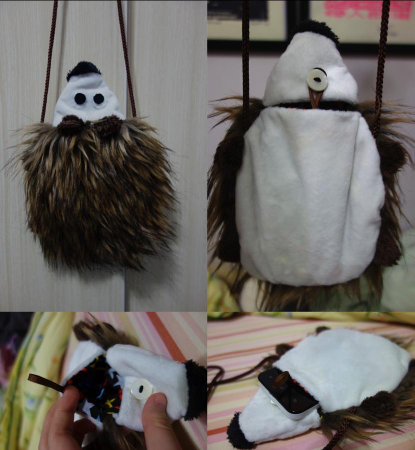 Hedgehog Phone Carrier by
