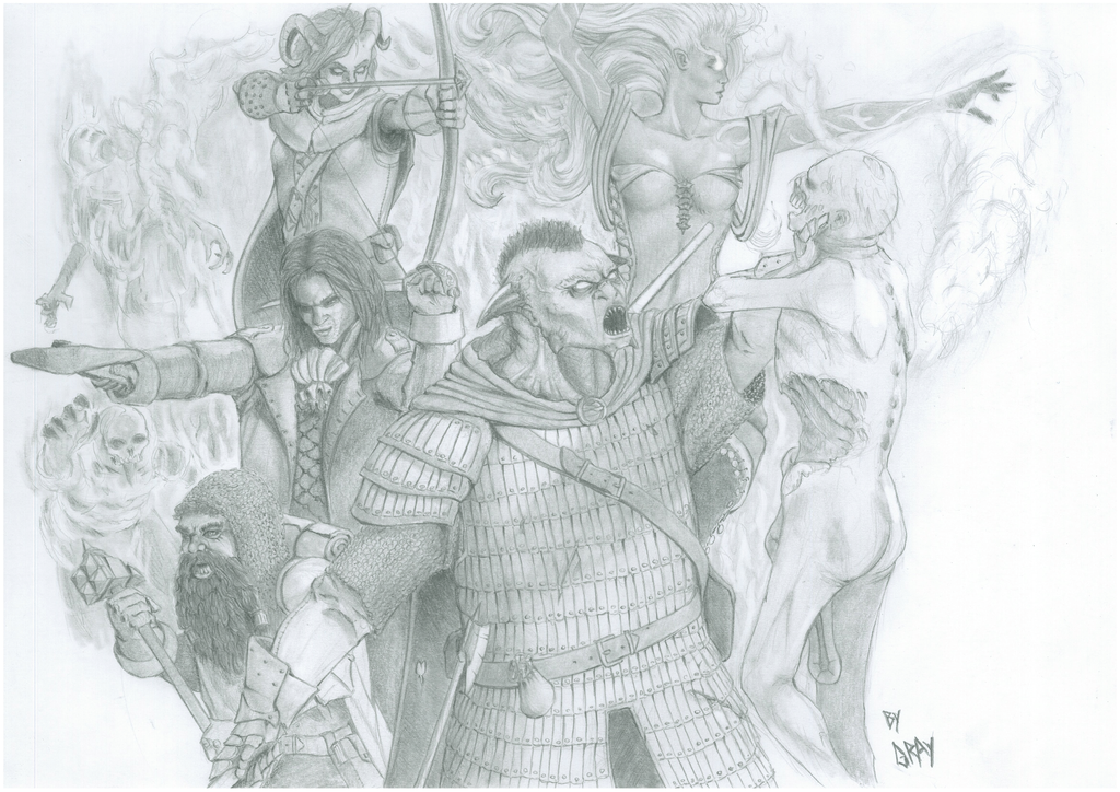 DnD group by Gray-philosophy