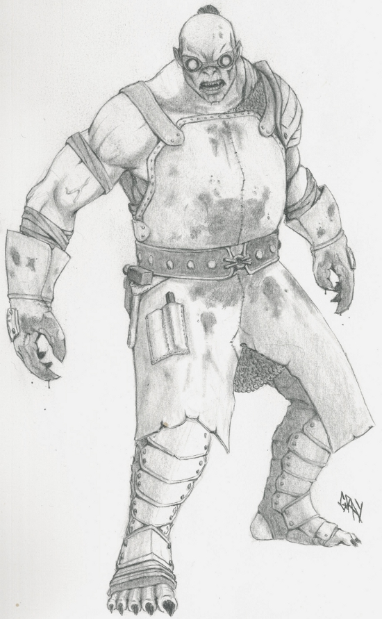 Nosgoth Fanart - Tyrant Blacksmith by Gray-philosophy