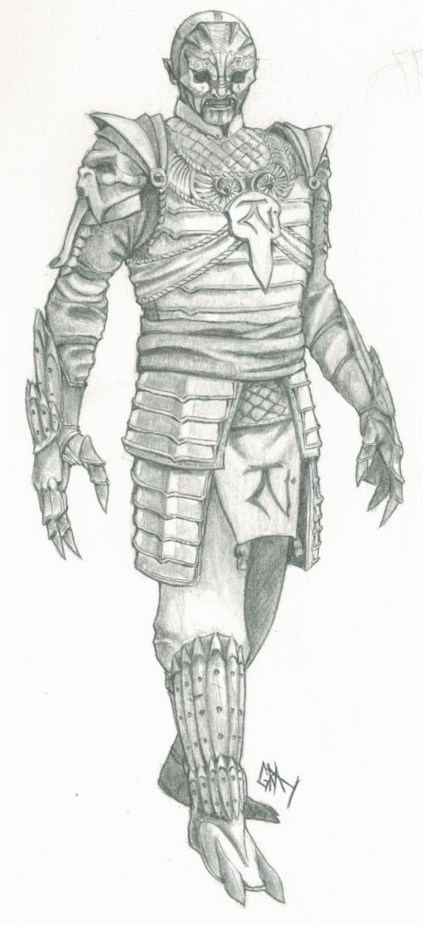 Nosgoth Fanart - Reaver Samurai by Gray-philosophy