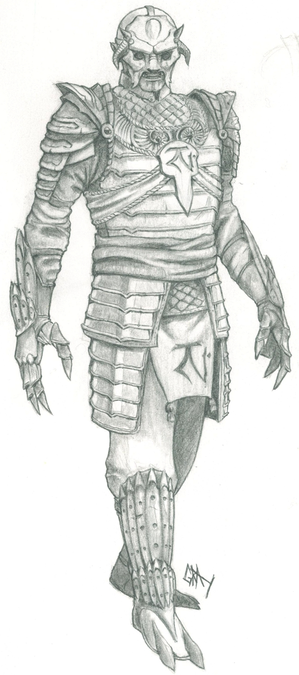 Nosgoth Fanart - Reaver Samurai (Alternate) by Gray-philosophy