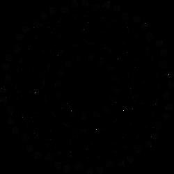 Spikey Disc - Glyph and Symbol wheel design by dscript