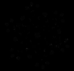 Six Sided Dscript Glyph Flake - text artwork by dscript