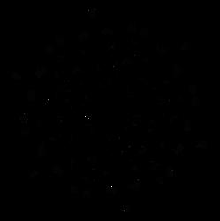 Winter glyph-snow-flakes from dscript text art by dscript