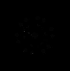 Star Shaped Snowflake Designs from Dscript Art by dscript