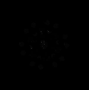 Star Shaped Snowflake Designs from Dscript Art