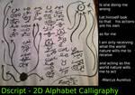 Dscript Calligraphy by dscript
