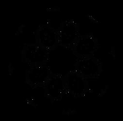 Octo vector spike wheel - free Dscript 2d vectors by dscript