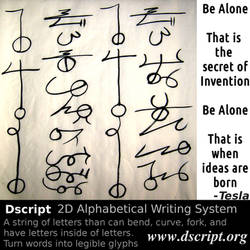 The Secret Of Inventions - Dscript Tesla Quote by dscript