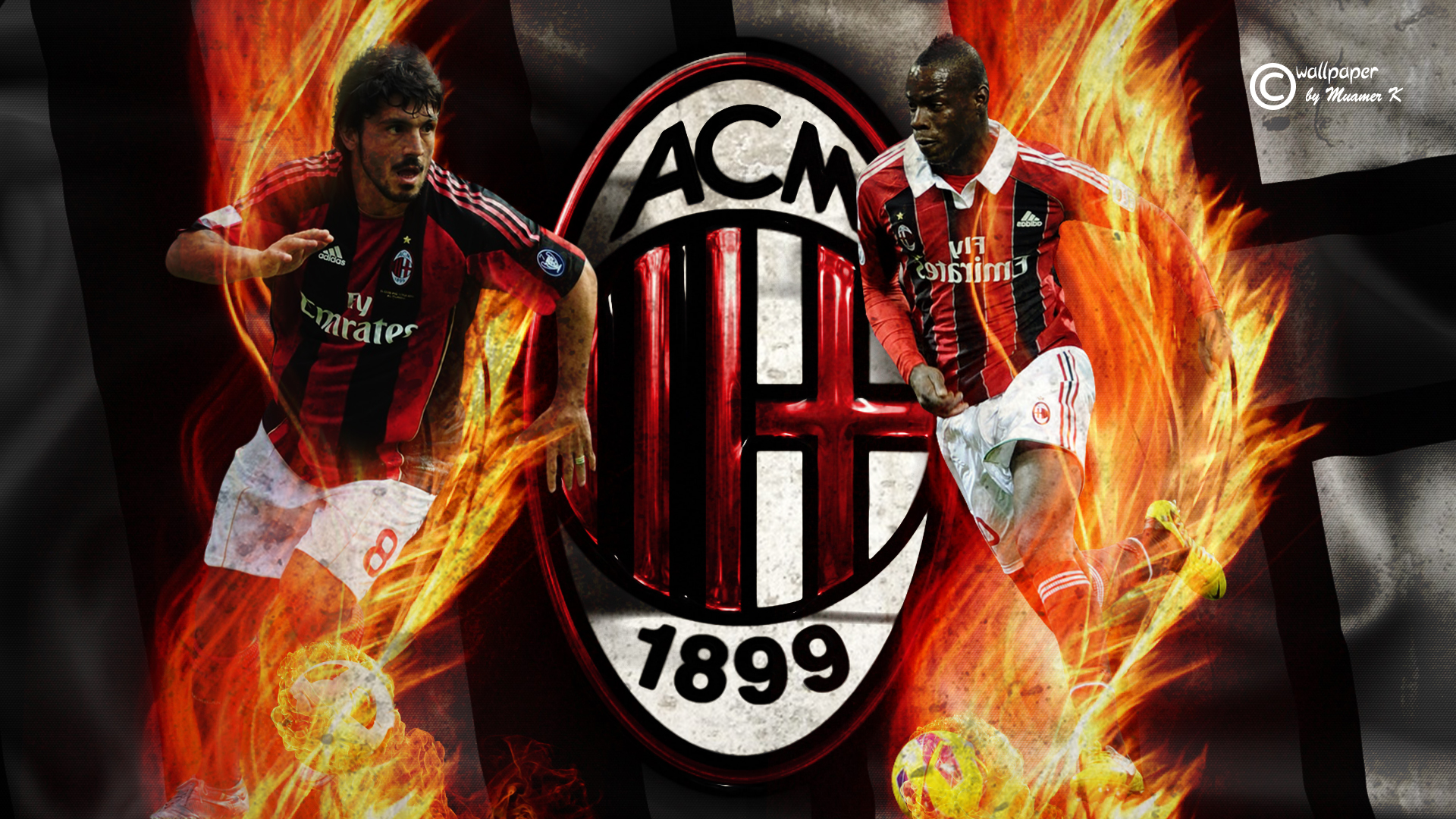 Hd wallpaper ac milan -  Ac Milan Hd Wallpaper By Muamerart