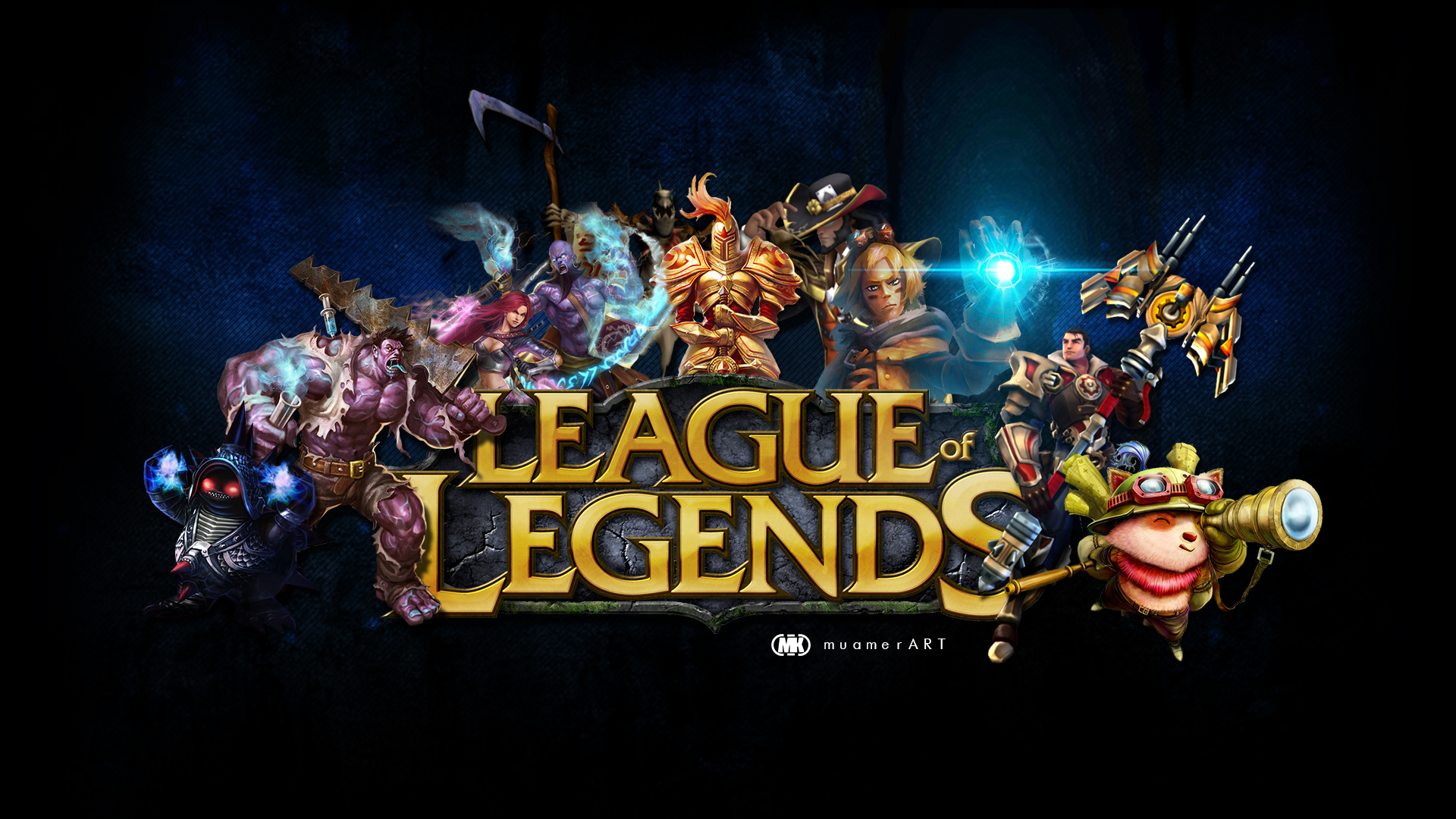 League Of Legends Wallpaper Hd By Muamerart On Deviantart
