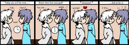 Yuki And Haru Comic. by Scarhead