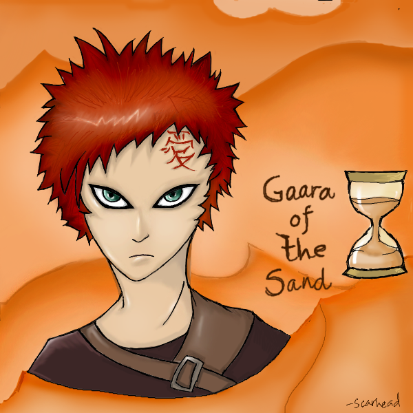 Naruto: Gaara Of The Sand By Scarhead On DeviantArt