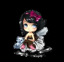 Huge Diamond's Commission by Nekonacha