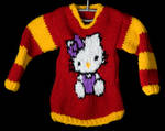 Hello Kitty Jumper by foxymitts
