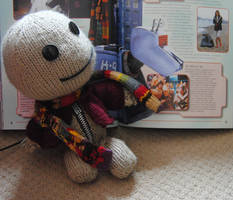 Dr Who Sackboy by foxymitts