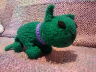 Cat-Hulk by foxymitts