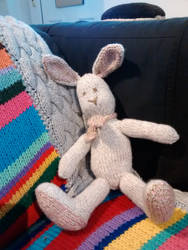 Big foot bunny by foxymitts