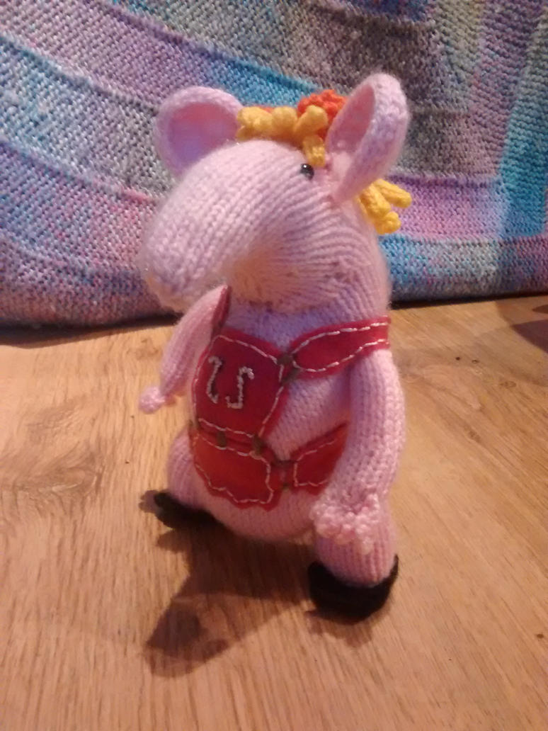 Tiny Clanger by foxymitts