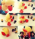Duck vs. Mirai Fighters