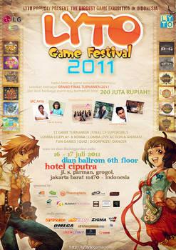 Lytogame Festival Poster