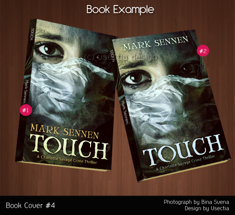 Touch by Mark Sennen Book Cover by suicidekills