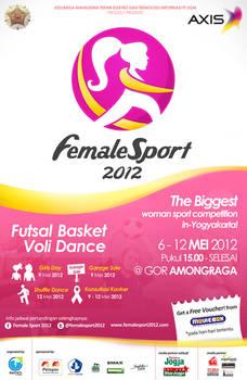 Female Sport Baliho