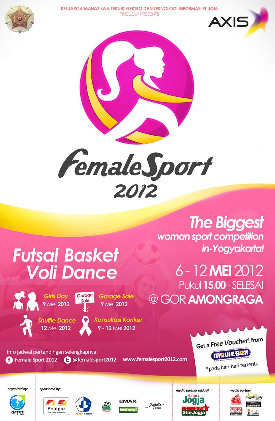 Female Sport Baliho by suicidekills