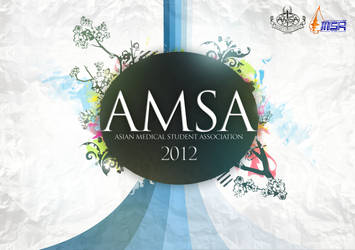 AMSA Yearbook Cover by suicidekills