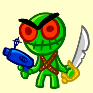 Mascot of the Murder City Space Zombies by JimmyCurbstomp