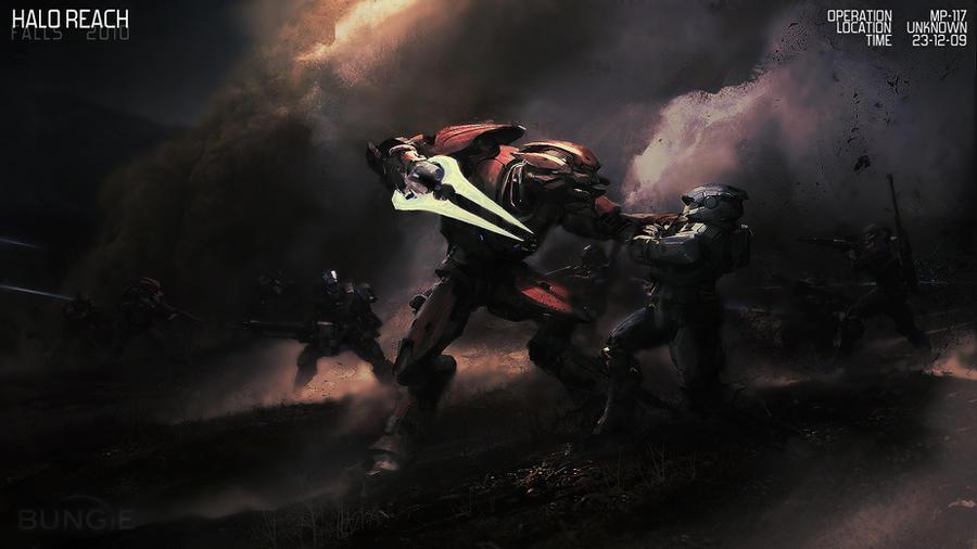 Halo Reach Wallpaper by PhotoshopMiraj on DeviantArt