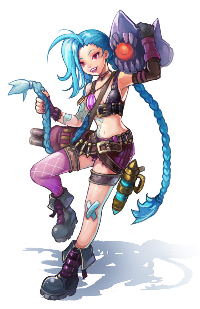 Jinx by kibowoo