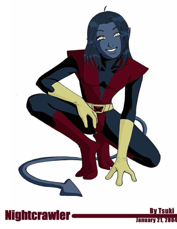 How to draw nightcrawler from x men step 5 apps directories