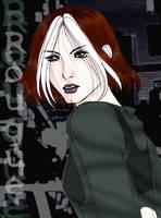 Rogue X-men: Evolution by Tsukiko-stock
